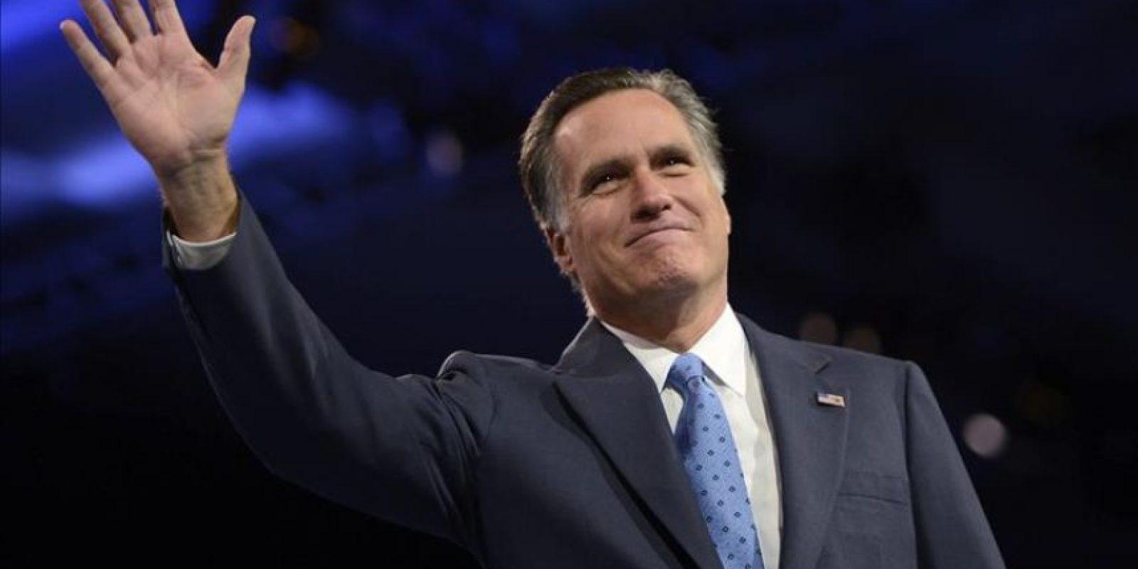 El exgobernador de Massachussetts Mitt Romney. EFE/Archivo