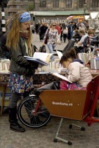 Fotografía facilitada por Shirley Agudo, la fotógrafa estadounidense afincada en Holanda desde hace 16 años que acaba de publicar su segundo libro sobre la cultura de la bicicleta en Holanda. EFE/