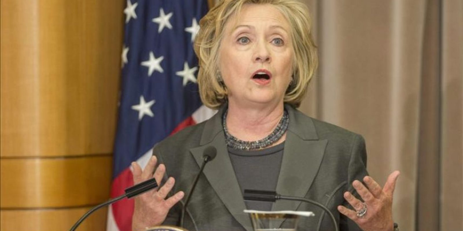 La exsecretaria de estado de los Estados Unidos Hillary Clinton. EFE/Archivo