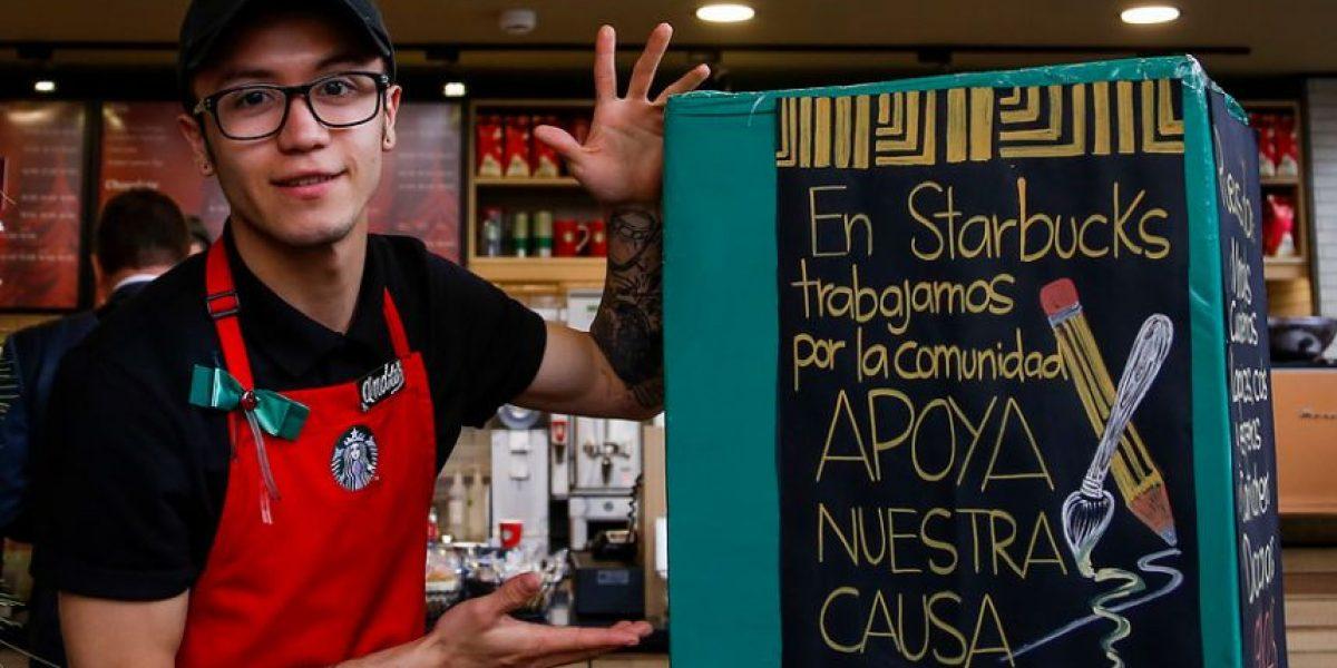La campaña de Starbucks para ayudar a los niños colombianos
