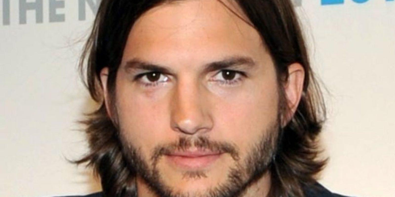 Ashton Kutcher siempre ha sido bueno en eso. Foto:Getty Images
