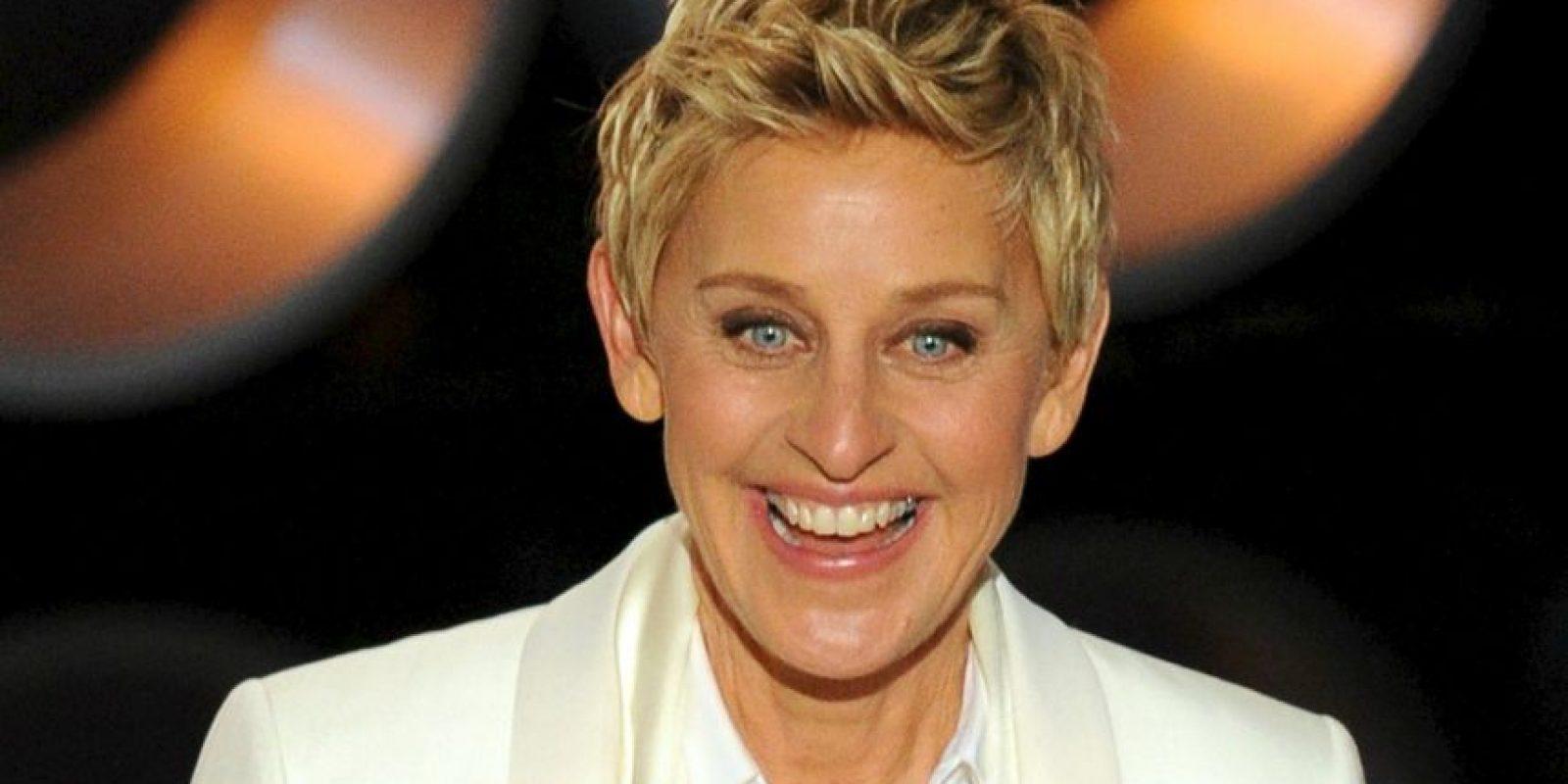 Ahora se ve grandiosa. Es Ellen Degeneres. Foto:Getty Images