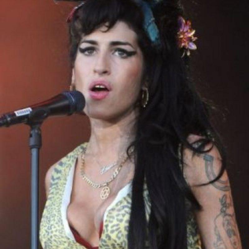 La cantante británica Amy Winehouse fue encontrada muerta en su apartamento de Londres en julio de 2011 Foto:Getty Images
