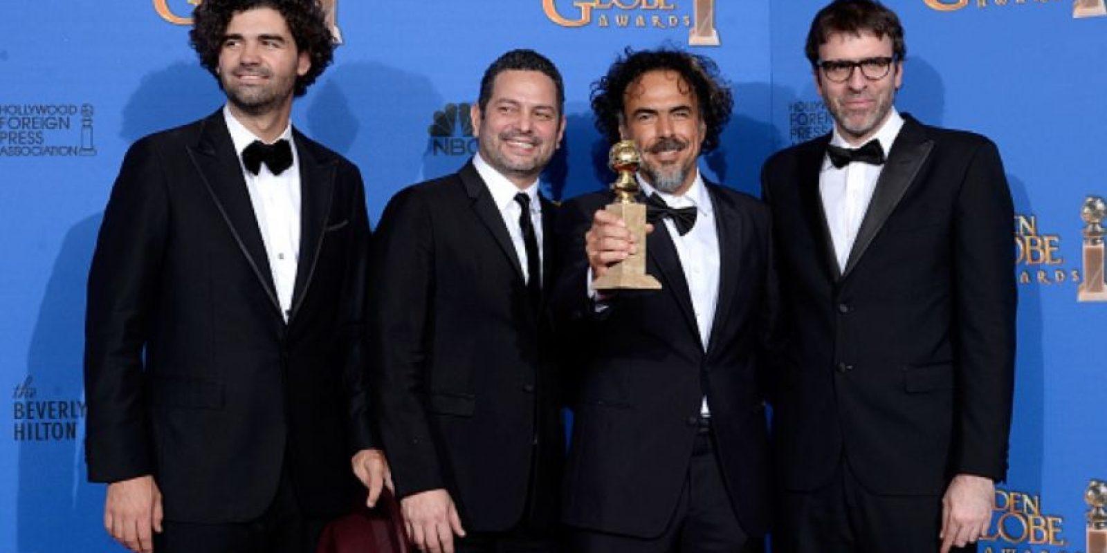 """Mejor Guión de Película: Alejandro González Iñarritu, Nicolas Giacobone, Alexander Dinelaris y Armando Bo por """"Birdman"""". Foto:Getty Images"""
