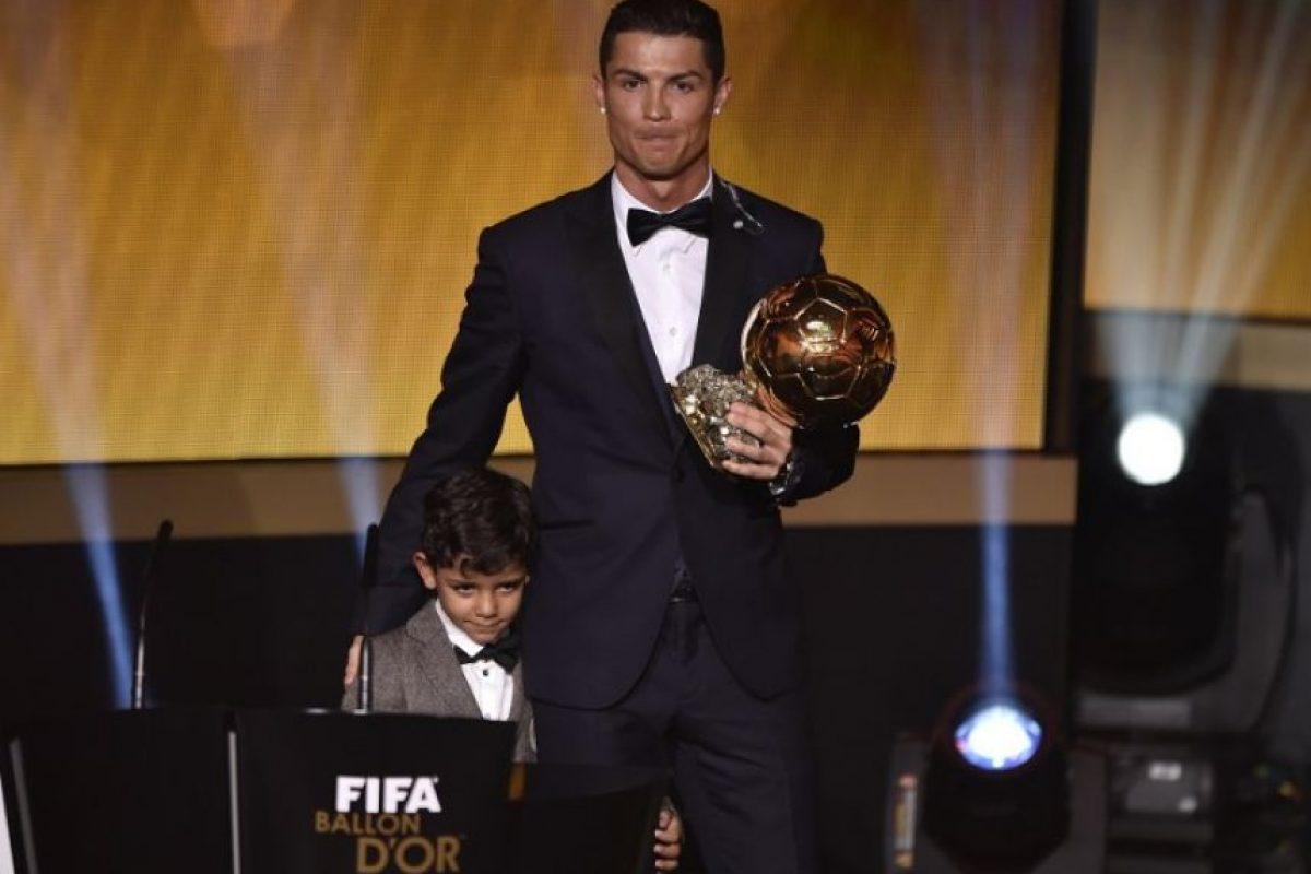 Cristiano Ronaldo: Sergio Ramos, Gareth Bale y Karim Benzema Foto:Getty