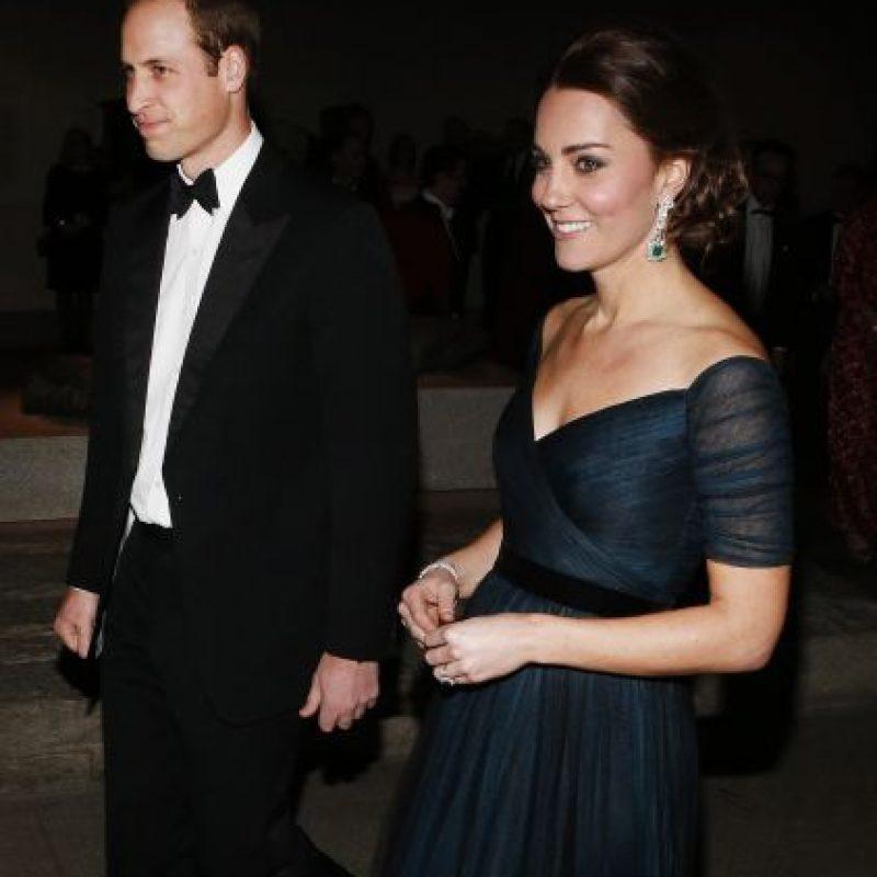 Los duques de Cambridge esperan su segundo hijo para 2015. Foto:Getty Images