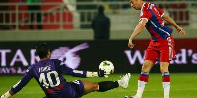 El polaco prefirió a CR7 por encima de su compañero Manuel Neuer Foto:Getty