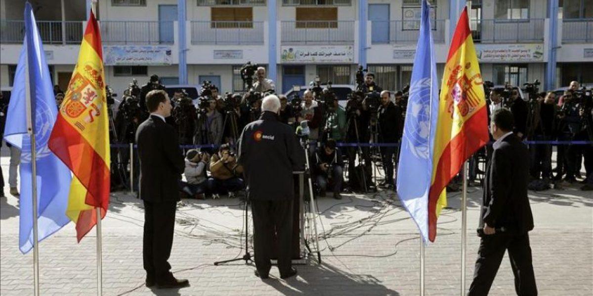 España se compromete a ayudar a Gaza y a plantear a Israel el fin del bloqueo