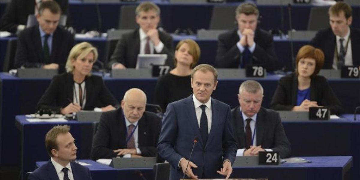 Tusk reclama a la Eurocámara aprobar el registro de pasajeros europeo