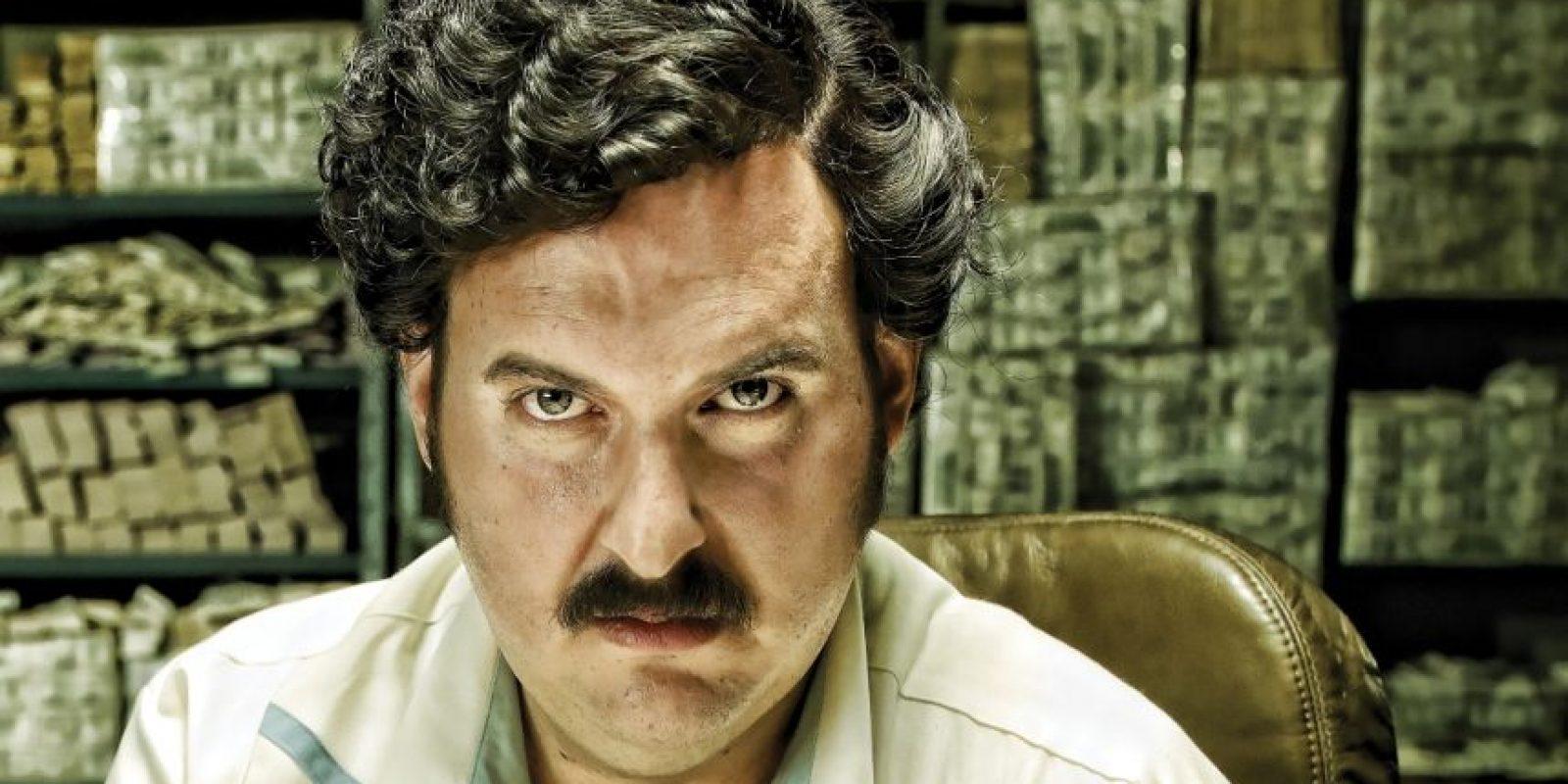 Andrés Parra como Pablo Escobar Foto:Caracol