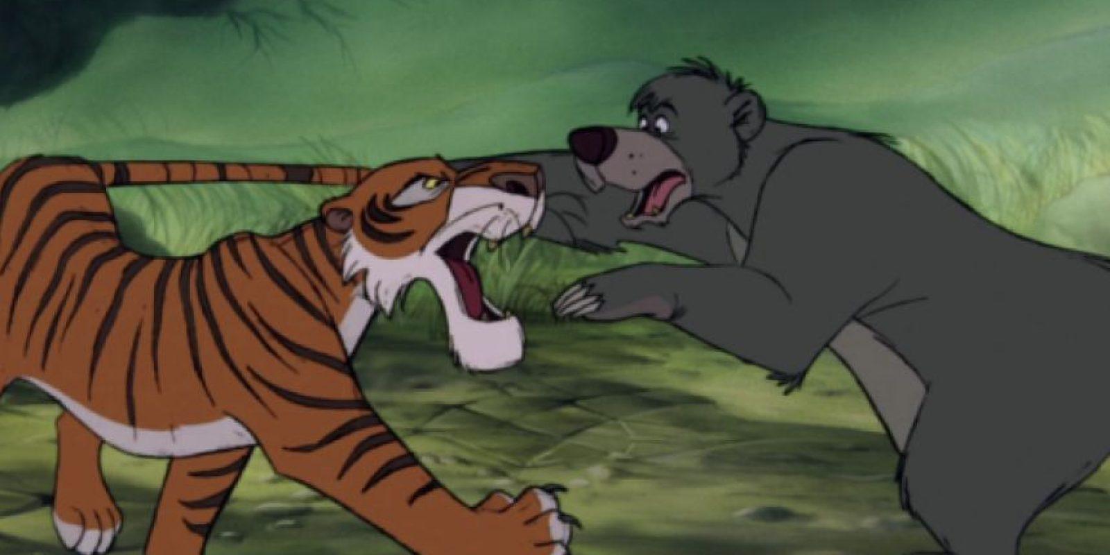 Shere Khan y Baloo