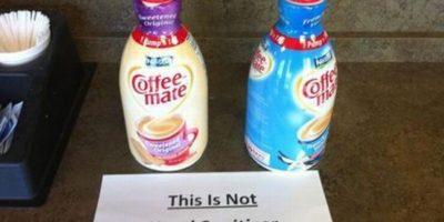 Dejar instruccioens como estas. Foto:TFR