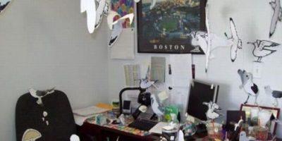 """Llenar su escritorio de """"imaginación"""". Foto:TFR"""