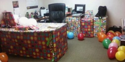 Celebrar así su cumpleaños. Foto:TFR