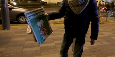 El Charlie Hebdo ahora es famoso en todo el mundo. Foto:Getty Images