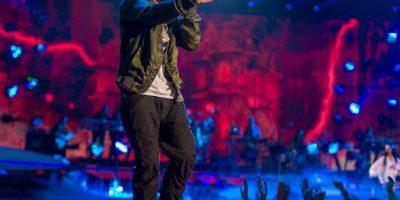 Imágenes de las últimas apariciones del rapero Foto:Getty