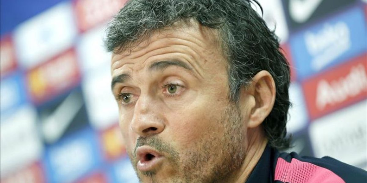 Luis Enrique dice que ni se plantean un hipotético adiós de Messi
