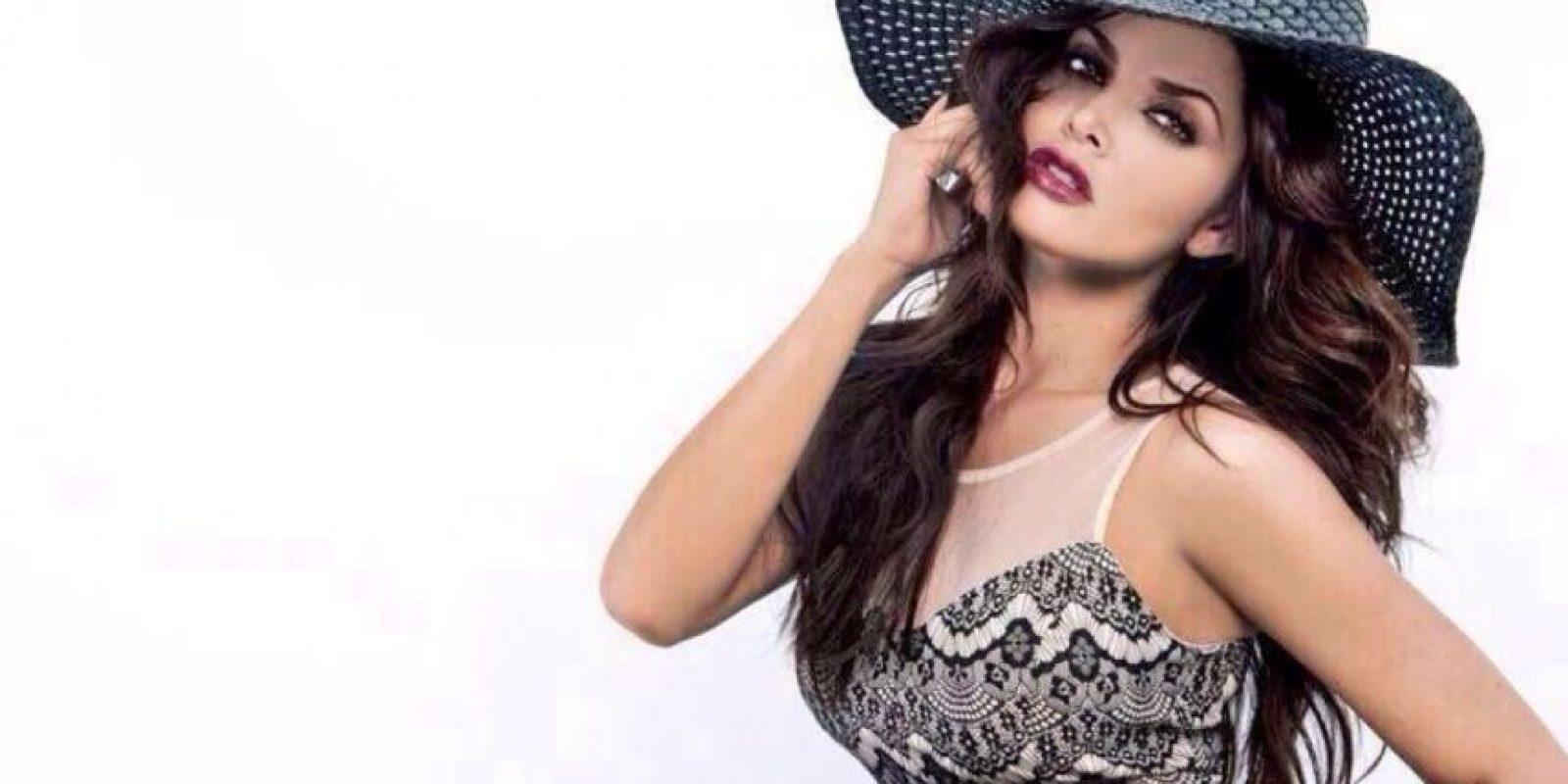 La bella conductora es esposa del mexicano Rafael Márquez Lugo Foto:Twitter: @marisolglzz
