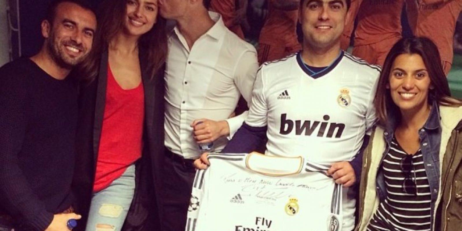 El festejo de Irina, Cristiano y sus amigos por la décima Champions del Real Madrid. Foto:instagram.com/irinashayk