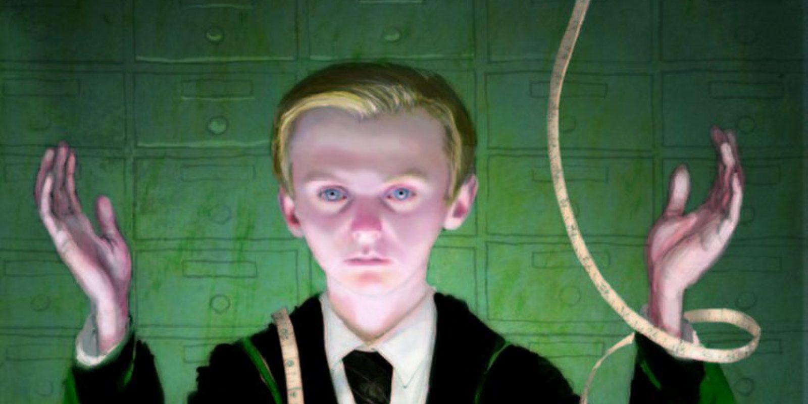 Draco Malfoy (libro ilustrado) Foto:Jim Kay