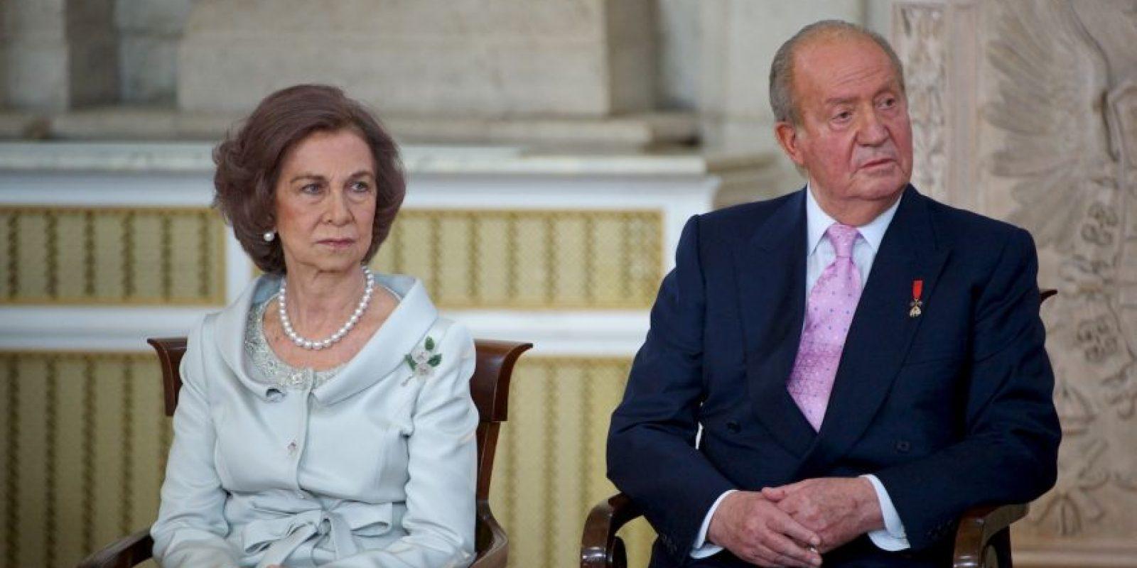 Hace unos meses se anunció que se divorciaría de la Reina Sofía. Foto:Getty Images