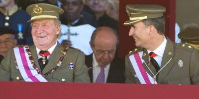 El rey sigue asistiendo a algunos eventos. Foto:Getty Images