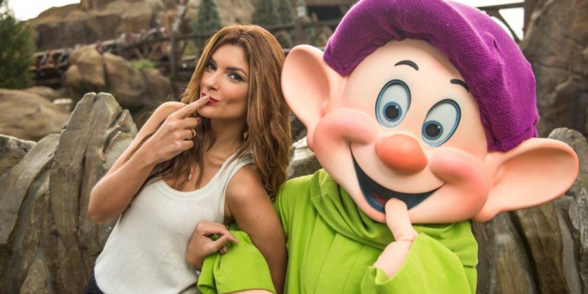 Siad Char pasa un día mágico en el Walt Disney World Resort