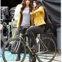 Megan Fox en Transformers.