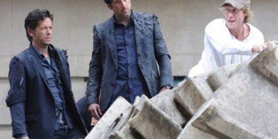 Patrick Dempsey y su doble en Transformers