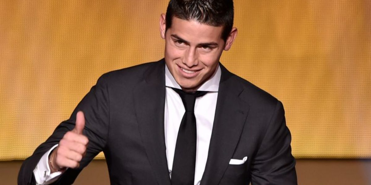 James Rodríguez es nominado a los