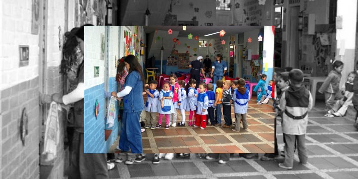Distrito promete entregar un jardín infantil diario