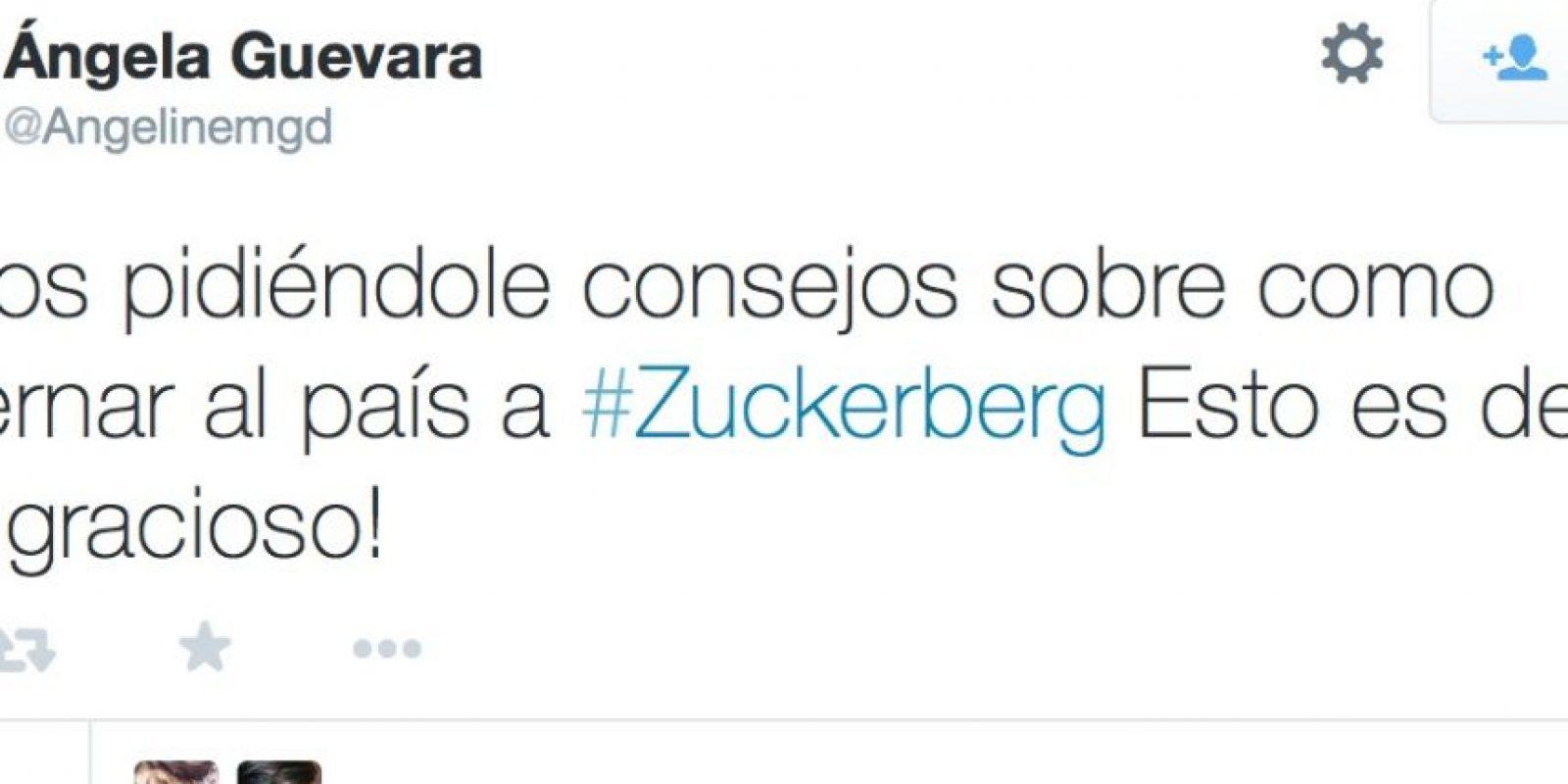 Santos preguntó a Zuckerberg sobre cómo gobernar Colombia. Foto:Twitter
