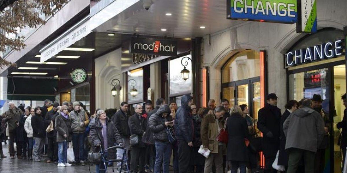 La apreciación del franco suizo quita el sueño a miles de personas en Europa central