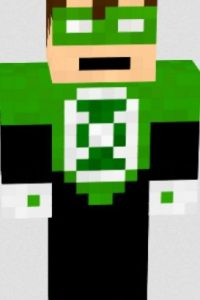 Linterna Verde Foto:Minecraft / Twitter