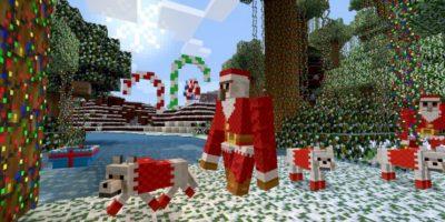 Santa Claus Foto:Minecraft / Twitter