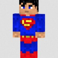 Superman Foto: Minecraft / Twitter