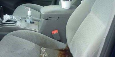 Peor aún cuando tienes un auto nuevo y voilá! Foto:HumorTrain