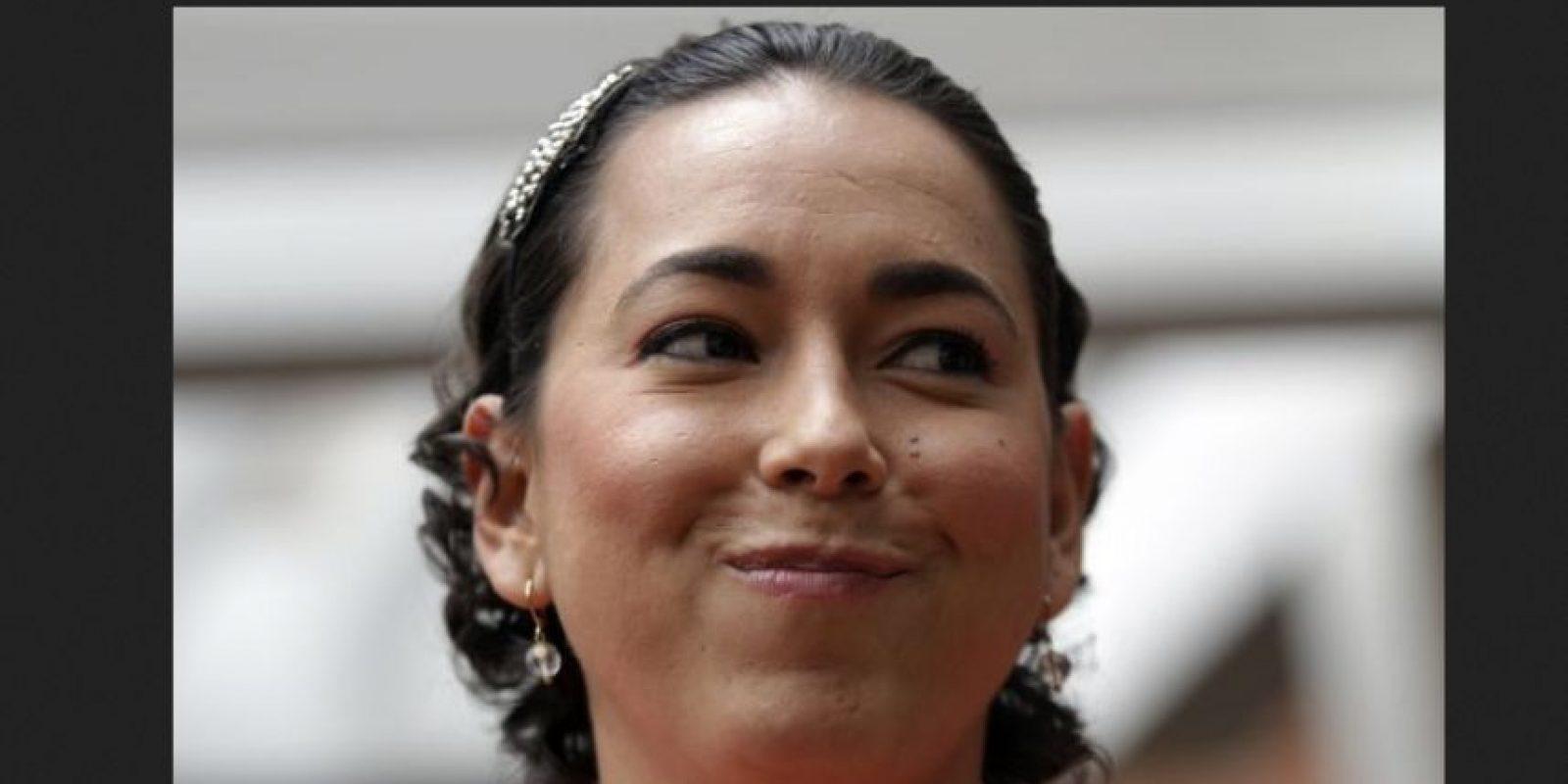 Tatiana García, esposa del arquero de Millonarios Luis Delgado, también sufrió la enfermedad.