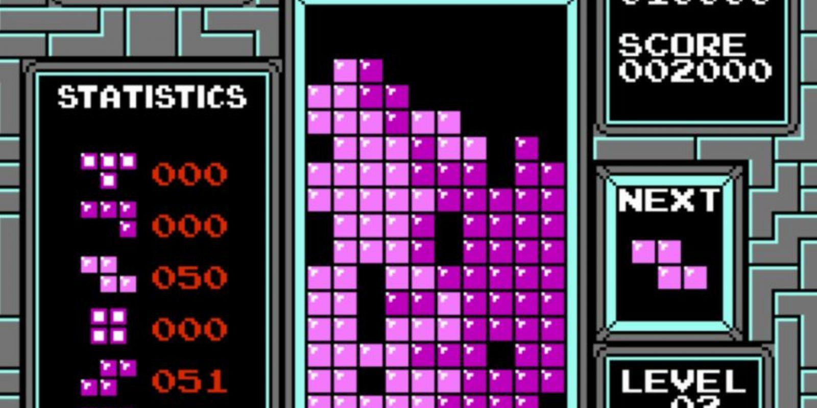 La primera edición del juego Tetris Foto:taringa.net