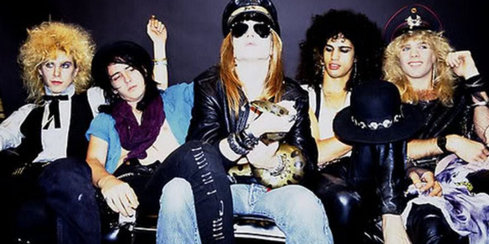 La formación de la banda Guns N' Roses Foto:taringa.net