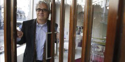 El escritor mexicano Jordi Soler, durante una entrevista con Efe con motivo de la publicación por Alfaguara de su nueva novela. EFE
