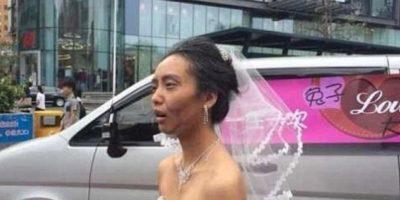 Ella iba a casarse. Foto:Weibo