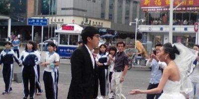 Nunca pasó eso. Foto:Weibo