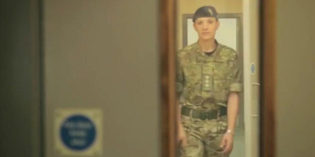 Hannah Winterbourne, la primera militar transgénero del ejército