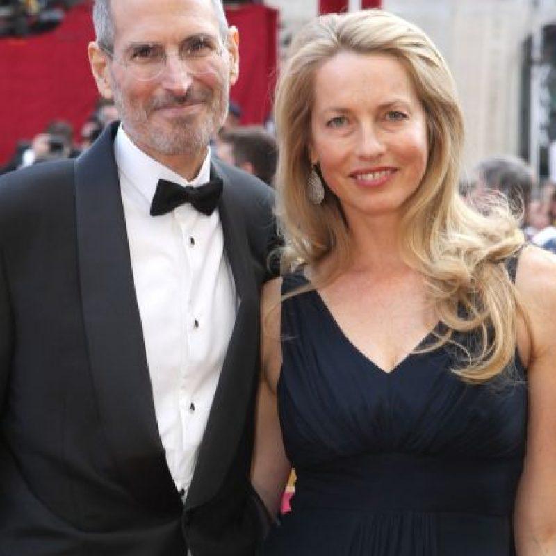Lauren Powell quedó viuda tras el fallecimiento de Steve Jobs en octubre de 2011. Foto:Getty Images