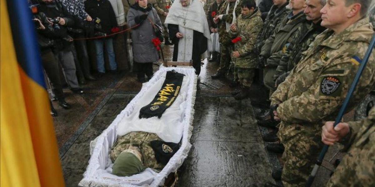 Ucrania moviliza nuevas tropas para doblegar la resistencia de los rebeldes