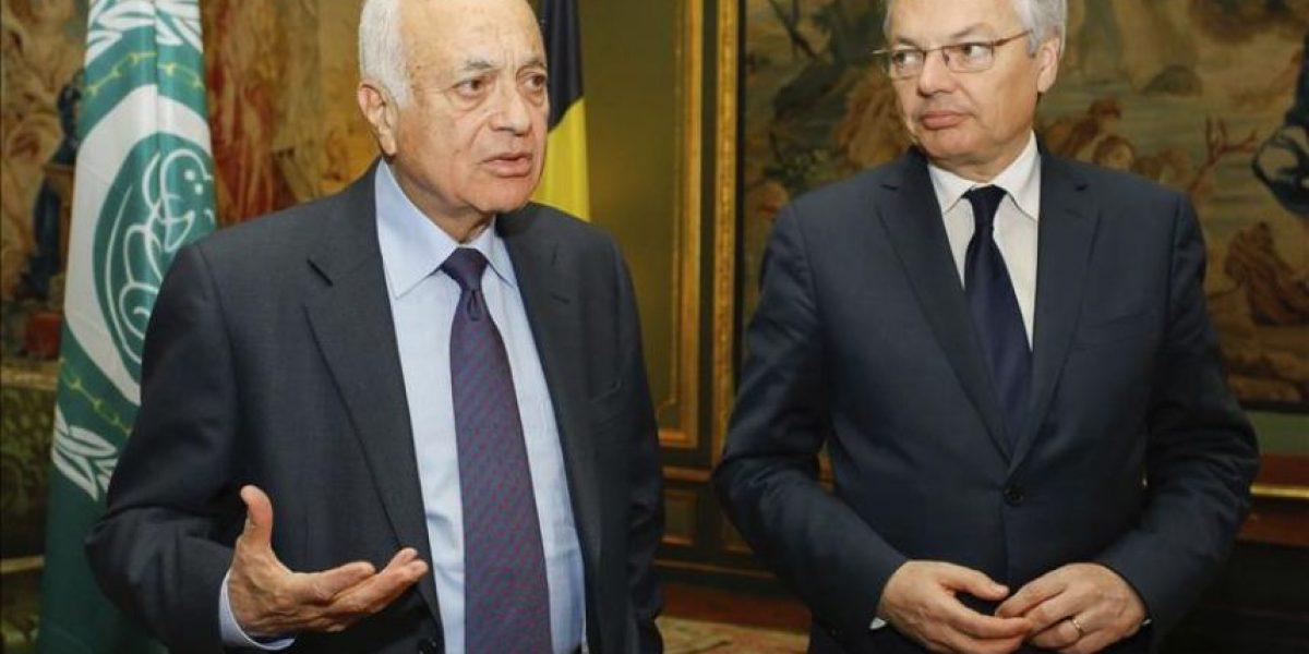 Al Arabi pide ayuda a la UE con Siria, que