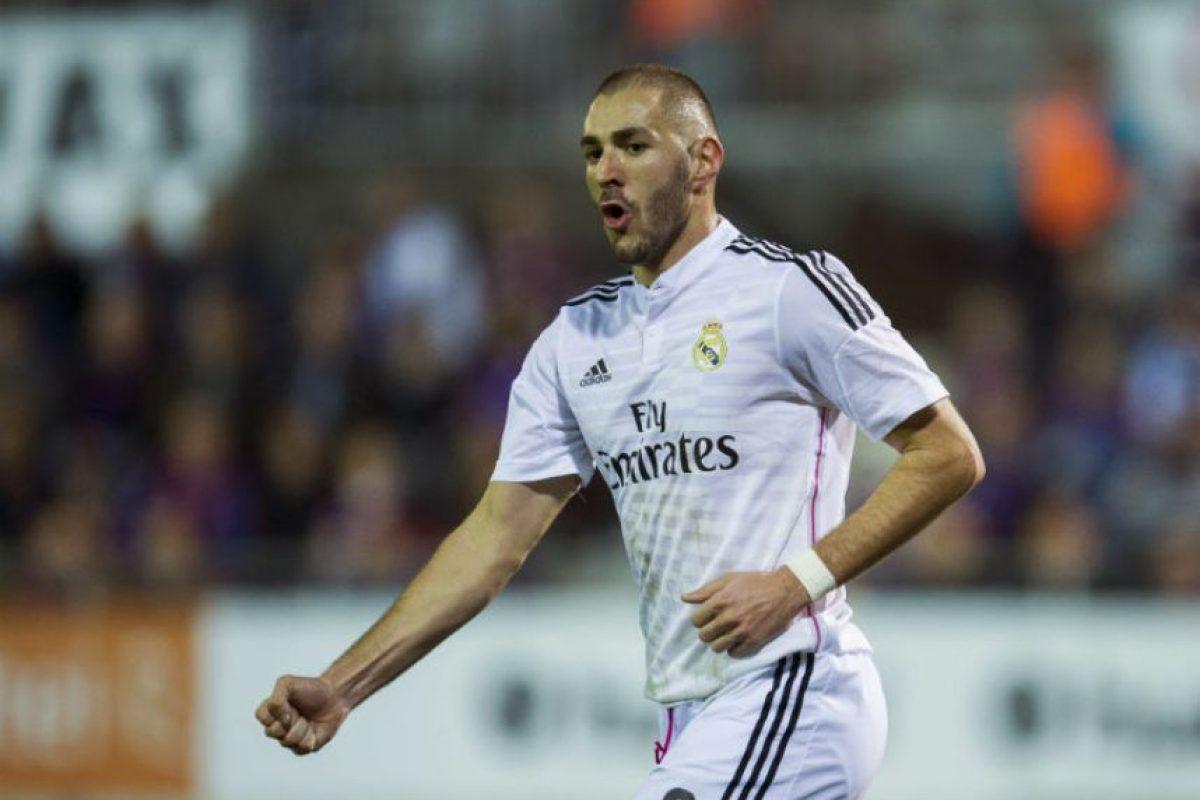 8. Karim Benzema es garantía de goles a cambio de 6.6 millones Foto:Getty