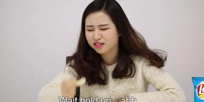 Varias mujeres coreanas probaron bocadillos populares norteamericanos. Foto:sw yoon/Youtube