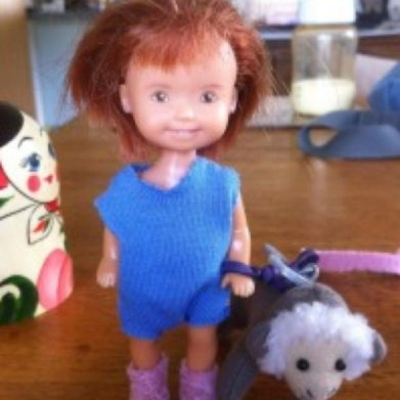 "Esta se llama ""Chuckie"" Foto:Tree Change Dolls /Tumblr"